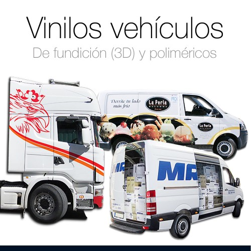 Vinilo de fundición conformable m2