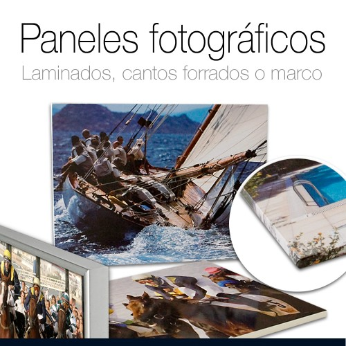 Panel fotográfico en foam