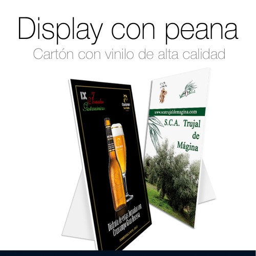 Display con peana